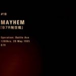 MISSION 10 MAYHEM「B7R制空戦」