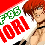 八神庵(YAGAMI Iori) Playthrough - THE KING OF FIGHTERS '95(PS) [GV-VCBOX,GV-SDREC]