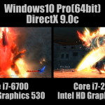 [4K] デビル メイ クライ 4 ベンチマーク Core i7-6700(Intel HD Graphics 530) vs Core i7-2600K(Intel HD Graphics 3000) [DirectX 9.0c]