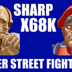 サガット(Sagat) Playthrough - SUPER STREET FIGHTER II [X68000,SHARP]