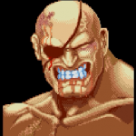 [高画質] サガット(Sagat) - SUPER STREET FIGHTER II