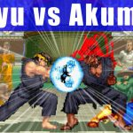 [凶悪] Ryu(リュウ) vs Akuma(豪鬼) - SUPER STREET FIGHTER II X(3DO)