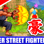 [4K] 豪鬼(Akuma) Playthrough - SUPER STREET FIGHTER II X
