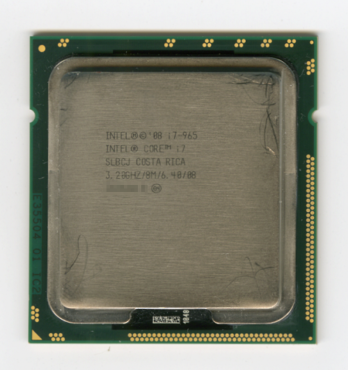 Core i7 965 Extreme Edition